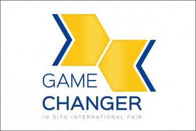 Logo targów. graf. mat. organizatora